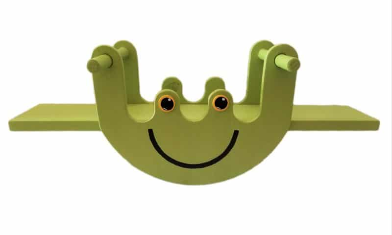 Froggy Rocker Seesaw Product Image- Pips and Moo - Children's Toys and Furniture