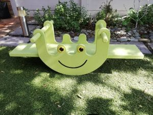 Pips and Moo - Froggy Rocker Seesaw - Description