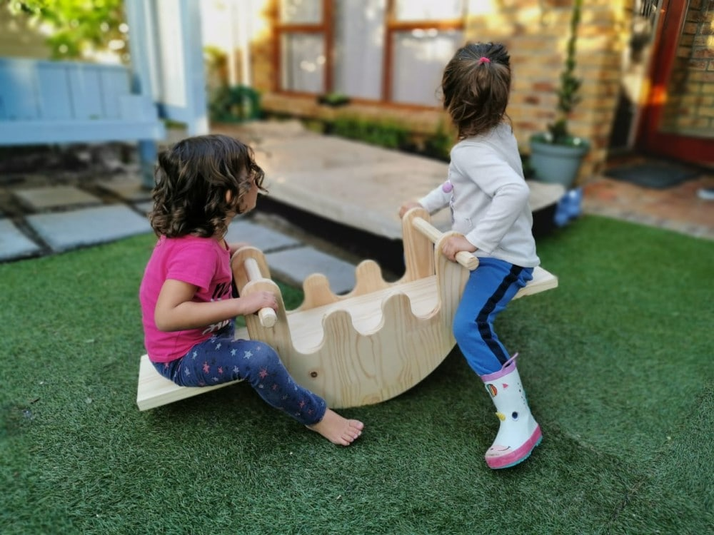 Pips and Moo - Froggy Rocker Seesaw Example