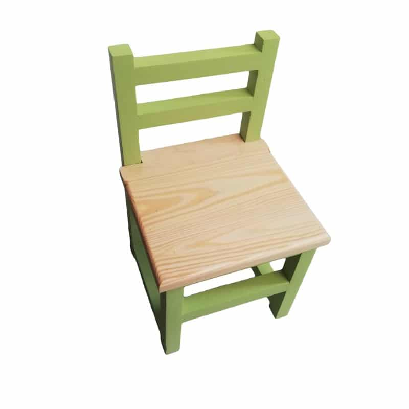 Children's Chair - Green - Pips and Moo