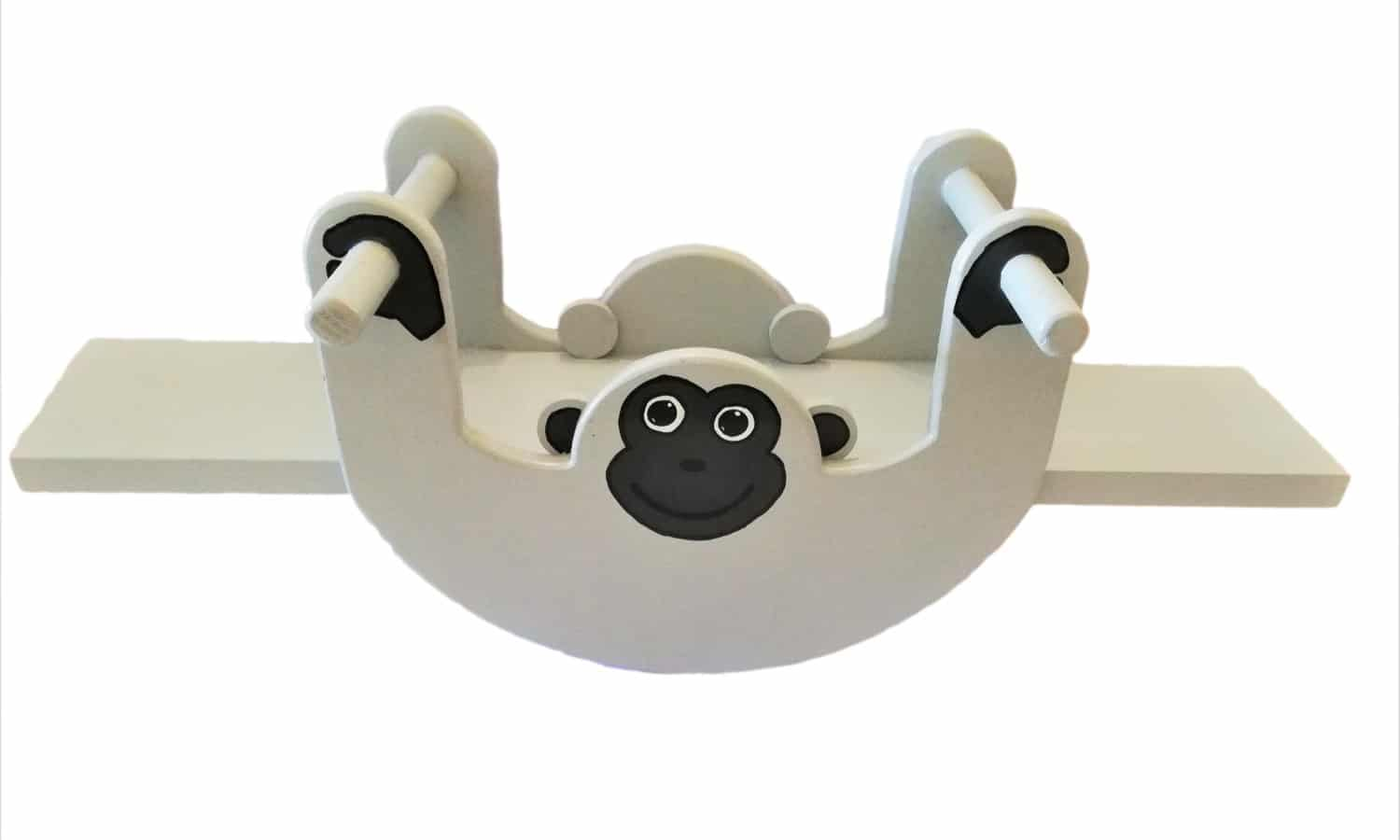 Monkey Rocker Seesaw - Pips and Moo - Children's Wooden Toys and Furniture