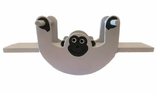 Monkey Rocker Seesaw Product Image - Pips and Moo - Children's Wooden Toys and Furniture