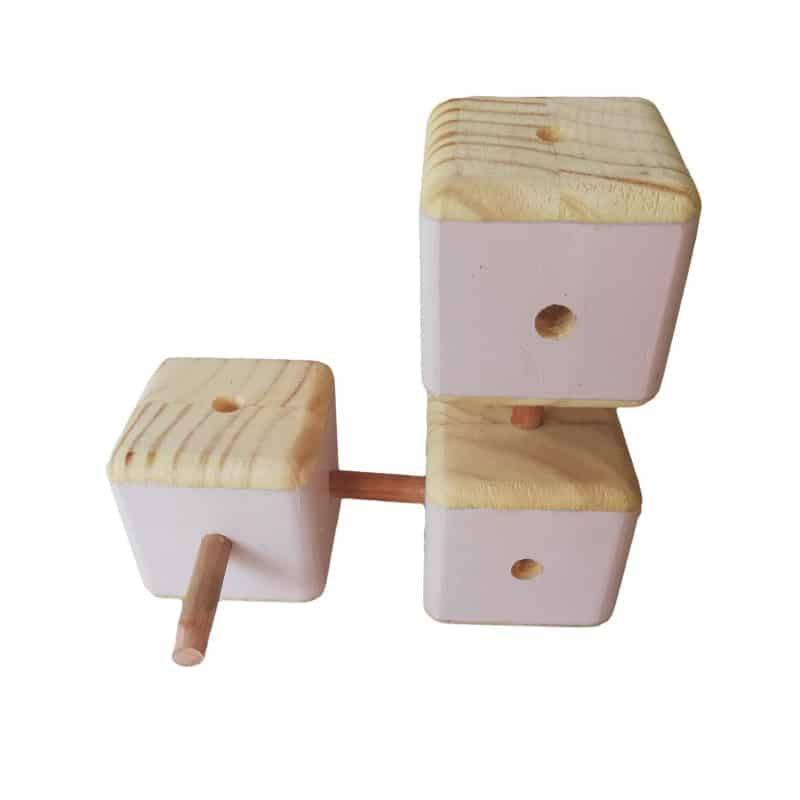 Connector Blocks - Pink