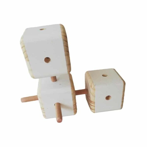 Connector Blocks - White