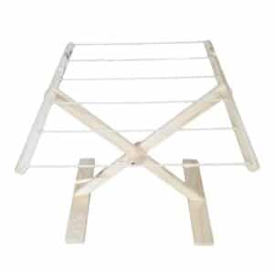 Children's Fold-up Washing Line - Natural - Pips and Moo - Children's Wooden Toys, Furniture and Decor