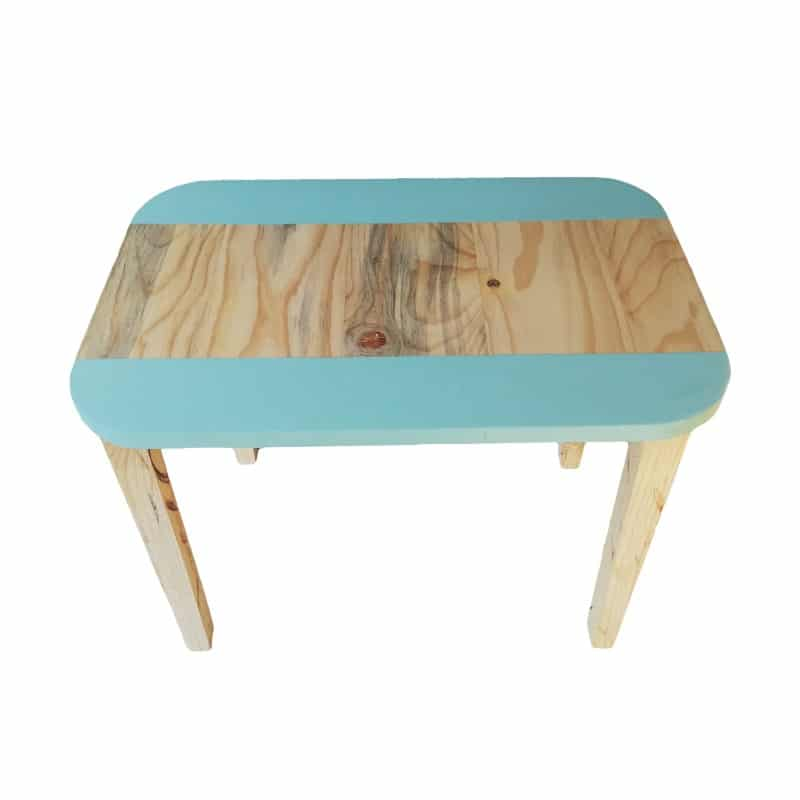 Rectangular Table (Medium) - Turquoise - Pips and Moo